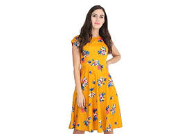 Dresses: Buy one piece dress for women online at best prices in India -  Amazon.in