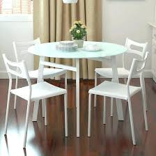 white round table and chairs small round table and chairs elegant small round white dining table