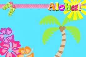 Hawaiian Party Invitation Wording Theme Birthday Invitation Wording