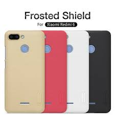 For Xiaomi Redmi 6 <b>NILLKIN Super Frosted Shield</b> Matte Plastic ...