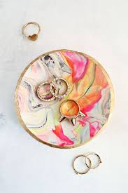 marbled clay ring dish cool crafts for teens diy projects for teens