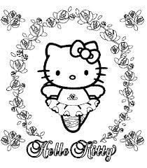 Printable Hello Kitty Christmas Coloring Pages Studentipmf Me