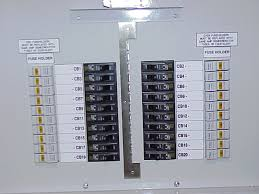 vti fdp fused distribution panel front panel of fdp blown fuse indicators and circuit breaker lockout kit installed