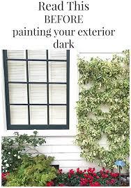black exterior paint trim mysoulfulhome com
