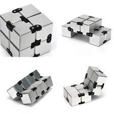 infinity cube 3. item 3 - infinity cube puzzle fidget unlimited flip autism adhd anti anxiety edc l