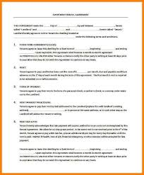Apartment Rental Contract Sample Magnificent Template Rental Lease Agreement Best Of Residential Lease