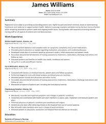 Clinic Nurse Resume Resume Sample