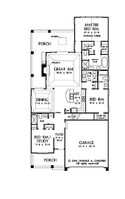 house plans one story