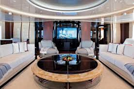 It's 66 feet long and can cruise at 44 knots (50 mph) making it a great escape boat on the open ocean. A Profile In Excellence Herb Chambers And His Yacht Yachts International