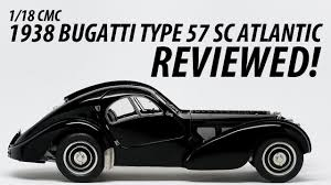 The bugatti type 57 sc atlantic has, as a result, come to be seen as one of the ultimate symbols of prewar automotive elegance, more rolling i myself once saw the atlantic belonging to ralph lauren on display in an actual art museum (the cleveland museum of art had a whole exhibit dedicated to the. 1 18 Cmc 1938 Bugatti Type 57 Sc Atlantic Reviewed Youtube