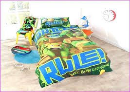 Ninja Turtle Bed Set Teenage Mutant Turtles Bedding Double Cover ...