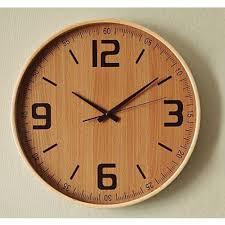 buy kairos wooden wall clock online  just for clocks
