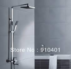 bathtub faucet and shower head. brand new chrome shower set faucet rain head with hand sprayer single handle tub bathtub and