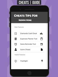 cheats diamonds design home tricks cash en app store