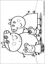 peppa pig 01_m peppa pig coloring pages on coloring book info on coloring book pig