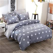 gray full size bedding fashion grey stars twin full queen king size bedding linen quilt yellow and gray king size bedding