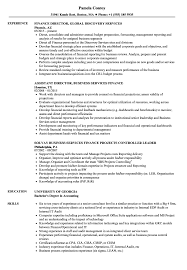 Financial Services Resume Finance Services Resume Samples Velvet Jobs