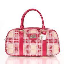 Coach Fashion Poppy Medium Pink Satchels CDU