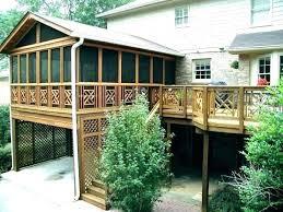 covered patio cost screened estimator