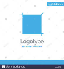 Azure Design Tool Crop Design Tool Blue Solid Logo Template Place For