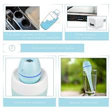 com starrybay portable mini clean cool mist humidifier ultraquiet desk personal air
