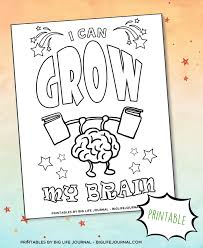 It develops fine motor skills, thinking, and fantasy. How To Explain Growth Mindset To Kids Neuroplasticity Activities Big Life Journal