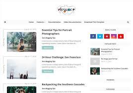 Simple Blog Templates Elegance Beauty Blogger Template Blogspot Templates 2019
