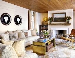 Living room wall furniture Fitted House Beautiful 60 Best Living Room Decorating Ideas Designs Housebeautifulcom