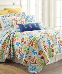 680 best COastal Bedrooms-bedspreads, sheets images on Pinterest ... & Blue & Green Coral Reef Quilt Set #zulilyfinds Adamdwight.com