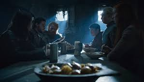 jon snow sansa stark castle black game of thrones