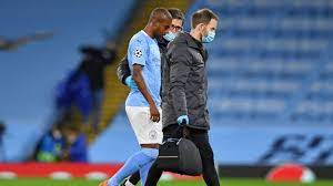 Man City injury crisis mounts with Fernandinho set to miss six weeks