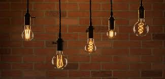 vintage style lighting fixtures. Feit Electric\u0027s LED Original Vintage Glass Light Bulbs Shown In Pendant Lights Style Lighting Fixtures