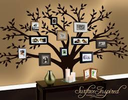 wall decal family tree decal by surfaceinspired on