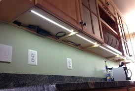 under cabinet led strip lighting kitchen lights xenon plinth