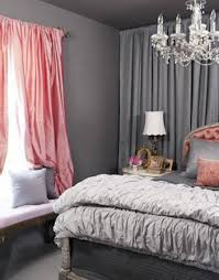 Grey Adult Bedroom Ideas With Chandelier And Pink Curtain Modern Adult  Bedroom Ideas