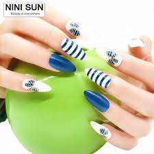 Decorative Nail Art Designs Decorative Nails Awesome 100 False Nails French Nep Nagels Fake 60