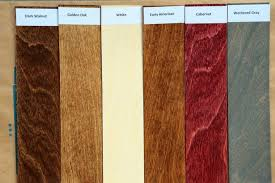 Varathane Classic Wood Stain Color Chart