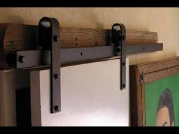 image of sliding barn door kit exterior