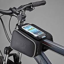 [$21.99] ROSWHEEL Cell <b>Phone Bag Bike</b> Frame <b>Bag</b> Top Tube 5.5 ...