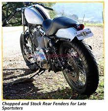 custom chrome 688688 chopped rear fender ebay