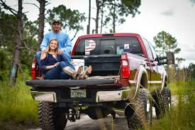 Man And Woman Sitting On Back Of Pickup Truck · Free Stock Photo