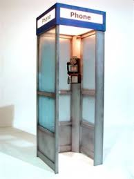 watch more like s american phone booth 1950s phone booth american phone booth prop american theme party