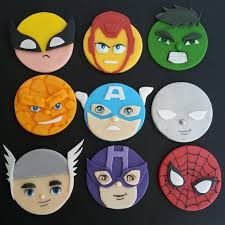 Marvel Dc Avengers Justice League Superhero Inspired Fondant