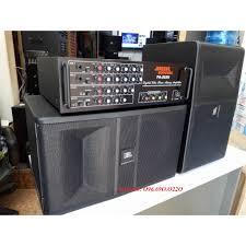 Bộ dàn Karaoke Nghe nhạc Gia đình cực chất - Gồm Đôi loa Ki 81 bass 25 + Âm  ly Jarguar PA 203N - Micro tại Hà Nội