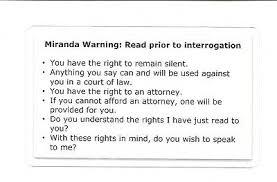 Otherwise, phonetic symbols may not display correctly. Miranda Warning Rights Phonetic Alphabet Card Military Sheriff Police 3 57 Picclick