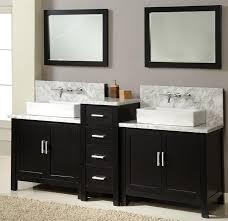 Bathroom Vanity Black Modern Bathroom With Double Sink Bathroom Vanity Ideas And Black