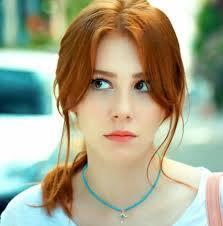 Elçin Sangu, RM   Girls with red hair, Red hair woman, Beautiful redhead