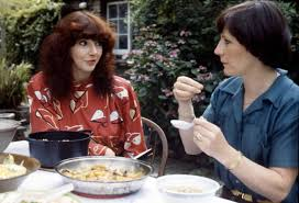 Kate Bush joined Delia Smith to talk vegetarianism, 1980