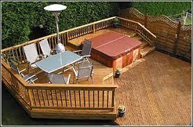 hot tub deck. Spas \u0026 Hot Tubs Tub Deck