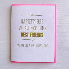 Amazon Com Birthday Card For Best Friend Small Gang